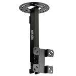 Display TV Ceiling Monitor Mount Arm Swivel Tilt - Ceiling mount for LCD display - steel - black powder coat - screen size: 13 inch -37 inch