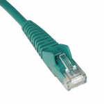 25ft Cat5e / Cat5 Snagless Molded Patch Cable RJ45 M/M Green 25 feet - Patch cable - RJ-45 (M) to RJ-45 (M) - 25 ft - UTP - CAT 5e - molded snagless stranded - green