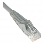 6ft Cat6 Gigabit Snagless Molded Patch Cable RJ45 M/M Gray 6 feet - Patch cable - RJ-45 (M) to RJ-45 (M) - 6 ft - UTP - CAT 6 - molded snagless stranded - gray