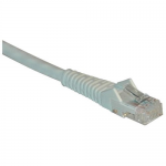 50ft Cat6 Gigabit Snagless Molded Patch Cable RJ45 M/M White 50 feet - Patch cable - RJ-45 (M) to RJ-45 (M) - 50 ft - UTP - CAT 6 - IEEE 802.3ba - molded snagless solid - white