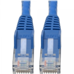 Premium Cat6 Gigabit Snagless Molded UTP Patch Cable 24 AWG 550 MHz/1 Gbps (RJ45 M/M)  Blue 6 in. - Patch cable - RJ-45 (M) to RJ-45 (M) - 5.9 in - UTP - CAT 6 - IEEE 802.3ab/IEEE 802.5 - molded snagless stranded - blue