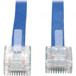 Tripp Lite Cisco Console Replacement Rollover Cable RJ45 32AWG M/M 10 10ft - Network cable - RJ-45 (M) to RJ-45 (M) - 10 ft - blue