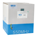 1000ft Cat6 Gigabit Cable Solid Core CMR PVC Yellow 1000 - cable - 1000 ft - UTP - CAT 6 - IEEE 802.3ab/IEEE 802.5 - solid - yellow - TAA Compliant