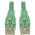 Lite 20ft Augmented Cat6 Cat6a Snagless 10G Patch Cable RJ45 Aqua - Category 6a for Network Device - 1.25 GBps - Patch Cable - 20 ft - 1 x RJ-45 Male Network - 1 x RJ-45 Male Network - Aqua