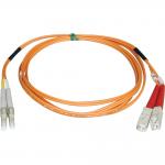 Lite Duplex Multimode 62.5/125 Fiber Patch Cable - (LC/SC)  10M (33-ft.)