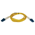 10M Duplex Singlemode 8.3/125 Fiber Optic Patch Cable LC/LC 33 feet 33ft 10 Meter - Patch cable - LC single-mode (M) to LC single-mode (M) - 33 ft - fiber optic - 8.3 / 125 micron - yellow