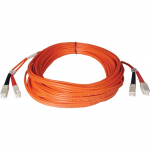 Lite Duplex Multimode 50/125 Fiber Patch Cable - (SC/SC)  1M (3-ft.)
