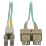 1M 10Gb Duplex Multimode 50/125 OM3 LSZH Fiber Optic Patch Cable LC/SC Aqua 3 3ft 1 Meter - Patch cable - SC multi-mode (M) to LC multi-mode (M) - 1 m - fiber optic - 50 / 125 micron - OM3 - aqua blue