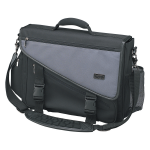 Profile Brief Bag Notebook / Laptop Computer Carry Case Nylon - Notebook carrying case - black charcoal gray