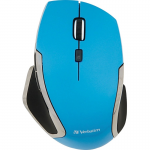 Deluxe - Mouse - 6 buttons - wireless - 2.4 GHz - USB wireless receiver - blue