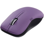 Wireless Optical Notebook Mouse Commuter Series - Mouse - optical - 3 buttons - wireless - 2.4 GHz - USB wireless receiver - matte purple
