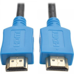 10ft High Speed HDMI Cable Digital A/V 4K x 2K UHD M/M Blue 10 - HDMI cable - HDMI (M) to HDMI (M) - 10 ft - double shielded - black