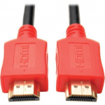 10ft High Speed HDMI Cable Digital A/V 4K x 2K UHD M/M Red 10 - HDMI cable - HDMI (M) to HDMI (M) - 10 ft - double shielded - black