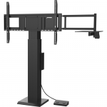 Cart (mount bracket) for interactive flat panel / LCD display - screen size: 55 inch -86 inch