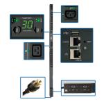 0U 5/5.8kW Single-Phase Switched Power Distribution Unit 208/240V Retail