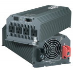 Compact Inverter 1000W 12V DC to 120V AC 4 Outlets 5-15R - DC to AC power inverter - 12 V - 1 kW - output connectors: 4
