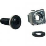 Rack Enclosure Cabinet Square Hole Hardware Kit Screws Washers - Rack screws nuts and washers