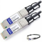 100GBase-CU direct attach cable - TAA Compliant - QSFP28 to QSFP28 - 3.3 ft - twinaxial - passive
