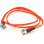 ST-ST 62.5/125 OM1 Duplex Multimode Fiber Optic Cable (TAA Compliant) - Patch cable - ST multi-mode (M) to ST multi-mode (M) - 7 m - fiber optic - 62.5 / 125 micron - OM1 - orange - TAA Compliant