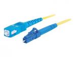 15m LC-SC 9/125 Simplex Single Mode OS2 Fiber Cable - Yellow - 50ft - Patch cable - LC single-mode (M) to SC single-mode (M) - 15 m - fiber optic - 9 / 125 micron - OS1 - yellow