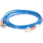 5m LC-ST 50/125 OM2 Duplex Multimode PVC Fiber Optic Cable - Blue - Patch cable - LC multi-mode (M) to ST multi-mode (M) - 5 m - fiber optic - 50 / 125 micron - OM2 - blue