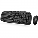 USB EASYTOUCH DESKTOP MULTIMEDIA KEYBOARD AND MOUSE COMBO. THE STYLISH F