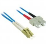 LC-SC 62.5/125 OM1 Duplex Multimode Fiber Optic Cable (Plenum-Rated) - Patch cable - LC multi-mode (M) to SC multi-mode (M) - 5 m - fiber optic - 62.5 / 125 micron - OM1 - plenum - blue