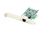 HP FX592AV Comparable Single RJ-45 Port PCIe NIC - Network adapter - PCIe x4 - 1000Base-T x 1