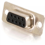 DB9 D-Sub Solder Connector - Data connector - DB-9 (F) - gold
