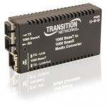 Stand-Alone Mini Gigabit Ethernet Media Converter - Fiber media converter - GigE - 1000Base-T 1000Base-X - RJ-45 / SFP (mini-GBIC)
