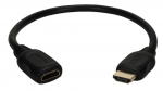 0.5FT HIGHSPEED HDMI ULTRAHD4K WITH ETHERNET FLEX EXTENSION CABLE