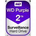 WD TDSourcing Purple Surveillance Hard Drive - Hard drive - 2 TB - internal - 3.5 inch - SATA 6Gb/s - 5400 rpm - buffer: 64 MB