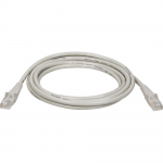 10ft Cat5e / Cat5 Snagless Molded Patch Cable RJ45 M/M Gray 10 feet - Patch cable - RJ-45 (M) to RJ-45 (M) - 10 ft - UTP - CAT 5e - booted snagless - gray