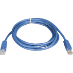 5ft Cat5e / Cat5 350MHz Molded Patch Cable RJ45 M/M Blue 5 feet - Patch cable - RJ-45 (M) to RJ-45 (M) - 5 ft - UTP - CAT 5e - molded stranded - blue
