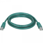 5ft Cat5e / Cat5 350MHz Molded Patch Cable RJ45 M/M Green 5 - Patch cable - RJ-45 (M) to RJ-45 (M) - 5 ft - UTP - CAT 5e - molded stranded - green