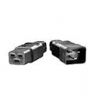 Power Distribution Unit (PDU) power cord (Black) - C20 (M) connector to C19 (F) connector - 2.5m (8.2ft) long - 250V 16A