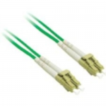 10m LC-LC 50/125 OM2 Duplex Multimode PVC Fiber Optic Cable - Green - Patch cable - LC multi-mode (M) to LC multi-mode (M) - 10 m - fiber optic - 50 / 125 micron - OM2 - green