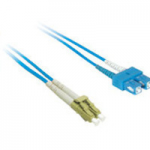 1m LC-SC 9/125 Duplex Single Mode OS2 Fiber Cable - Blue - 3ft - Patch cable - LC single-mode (M) to SC single-mode (M) - 1 m - fiber optic - 9 / 125 micron - OS1 - blue
