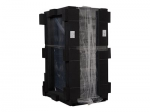 NetShelter SX Deep Enclosure with Sides Shock Packaging - Rack - black - 42U - 19 inch