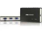 2-port VGA Video Splitter - 1 x Computer 2 x Monitor - 1600 x 1200 60Hz - XGA SVGA UXGA