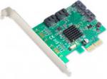 4Port SATA III 6Gb/s PCI Express RAID Full+ Low Profile Brackets Retail