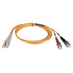 7M Duplex Multimode 62.5/125 Fiber Optic Patch Cable LC/ST 23 feet 23ft 7 Meter - Patch cable - ST multi-mode (M) to LC multi-mode (M) - 23 ft - fiber optic - 62.5 / 125 micron - orange