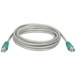 7ft Cat5e Cat5 Molded Snagless Crossover Patch Cable RJ45 Gray 7 - Crossover cable - RJ-45 (M) to RJ-45 (M) - 7 ft - UTP - CAT 5 - gray