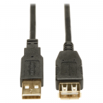 10ft USB 2.0 Hi-Speed Extension Cable Shielded A Male / Female 10 feet - USB cable - USB (M) to USB (F) - 10 ft
