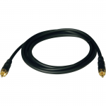 6FT HOME THEATER RF DIGITAL COAX GOLD AUDIO CABLE RCA M/M 6 FT