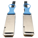 1M QSFP28 to QSFP28 100GbE Passive DAC Copper InfiniBand Cable QSFP-100G-CU1M Compatible 1 Meter - InfiniBand cable - QSFP28 (M) to QSFP28 (M) - 3.3 ft - SFF-8665/IEEE 802.3bj - passive - black