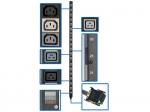 PDU 3-Phase 208V 8.6/12.6kW 42xC13 12xC19 20A Vertical 0URM - Power distribution strip ( rack-mountable ) - 35 A - AC 200-240 V - 12.6 kW - 3-phase - output connectors: 54 - 0U
