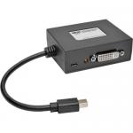 2-Port Mini DisplayPort to DVI Multi Stream Transport Hub 1080p - Video splitter - 2 x DVI - desktop - TAA Compliant
