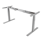WORKWISE STANDING DESK BASE ELECTRIC ADJUSTABLE-HEIGHT GRAY.FOR HEIGHT ADJUSTA