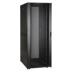 45U Rack Enclosure Server Cabinet 30 inch Wide with 6ft Cable Manager - Rack - cabinet - black - 45U - 19 inch - with 3 inch Wide High Capacity Vertical Cable Manager